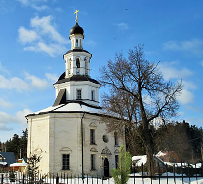 Видеорассказ об истории создания Никольского храма в селе Полтево